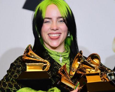 Billie Eilish als Grammy's
